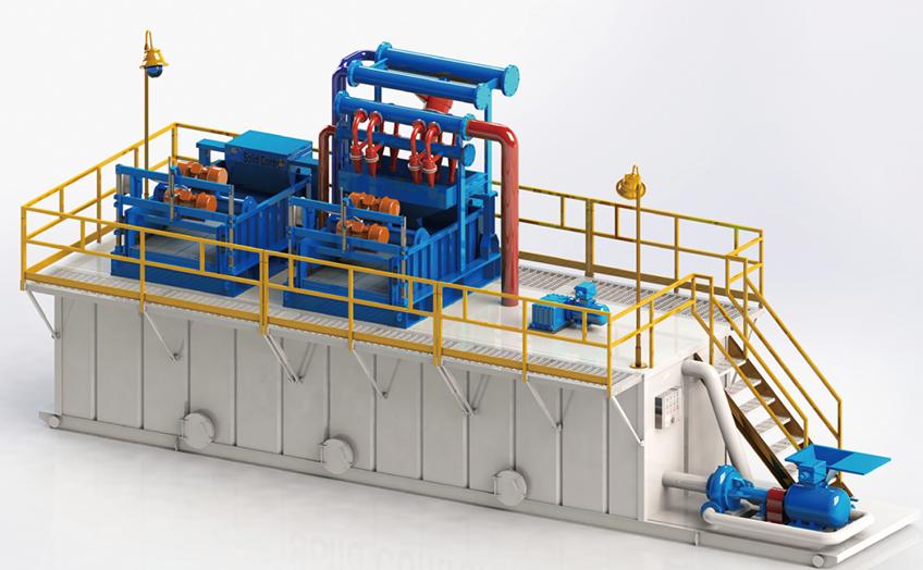 ^HDD泥浆回收系统 HDD Hori